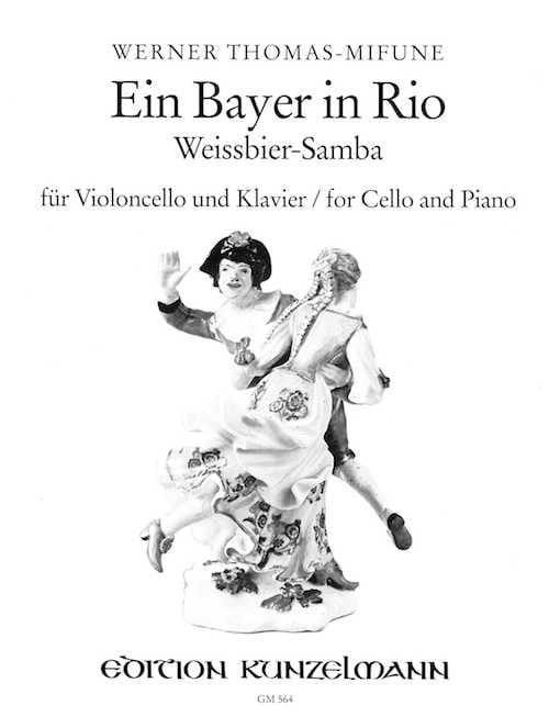 Ein Bayer in Rio - Cello - Werner Thomas-Mifune - laflutedepan.com