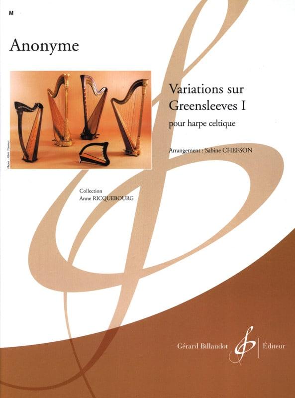 Variations sur Greensleeves 1 - Partition - laflutedepan.com