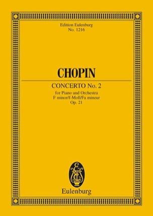 Concerto N° 2 pour Piano et Orchestre en Fa Mineur Op. 21 laflutedepan