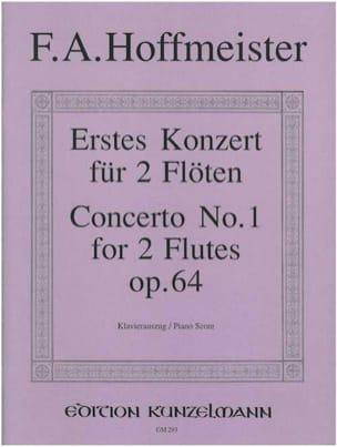 Konzert Nr. 1 für 2 Flöten op. 64 - 2 Flöten Klavier laflutedepan