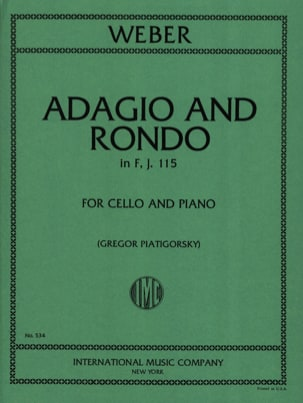 Adagio und Rondo in F, J. 115 - Cello laflutedepan