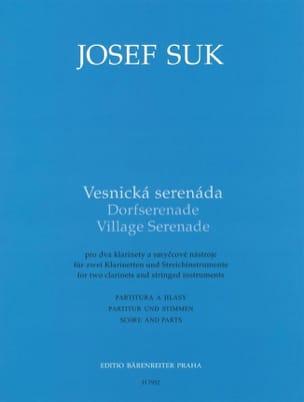 Village Serenade - Joseph Suk Partition OCTUORS - laflutedepan