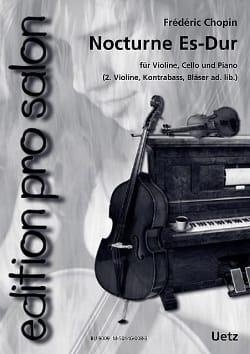 Nocturne en Mib Maj CHOPIN Partition Trios - laflutedepan