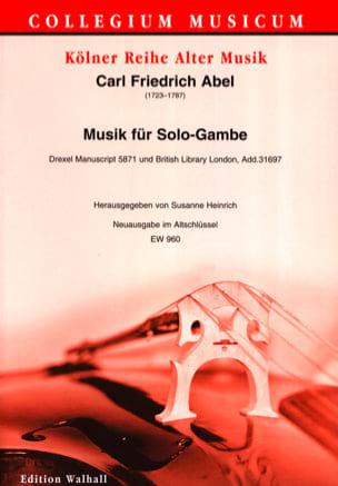 Musik für Solo-Gambe - Viole de Gambe Solo laflutedepan