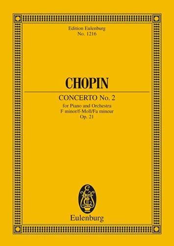 Concerto N° 2 pour Piano et Orchestre en Fa Mineur Op. 21 - laflutedepan.com