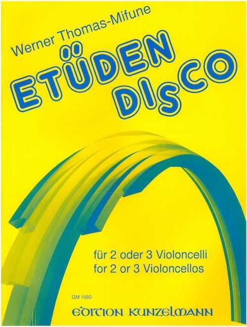 Etüden-Disco - 2 oder 3 Cellos - laflutedepan.com