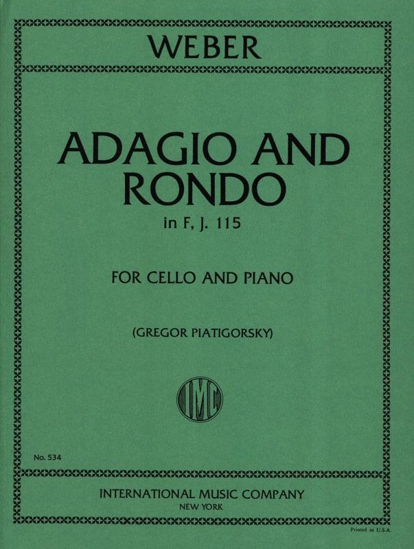 Adagio und Rondo in F, J. 115 - Cello - laflutedepan.com