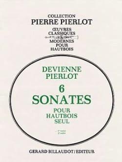 6 Sonates Volume 1 - 1ère Suite DEVIENNE Partition laflutedepan