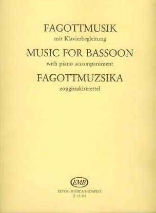 Fagottmusik Laszlo Hara Partition Basson - laflutedepan