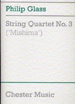 String quartet n° 3 'Mishima' - Score GLASS Partition laflutedepan