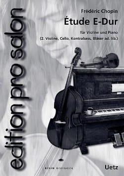 Etude En Mi Maj. - CHOPIN - Partition - Trios - laflutedepan.com