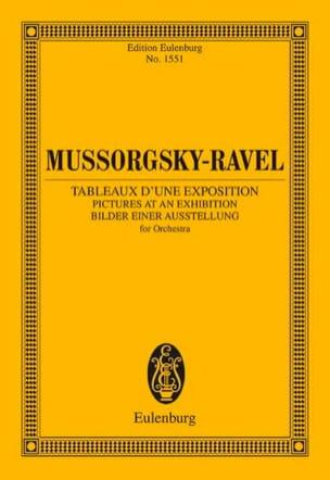 Tableaux d'une Exposition MOUSSORGSKI Partition laflutedepan