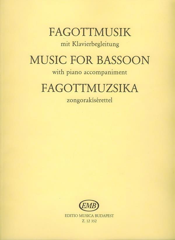 Fagottmusik - Laszlo Hara - Partition - Basson - laflutedepan.com