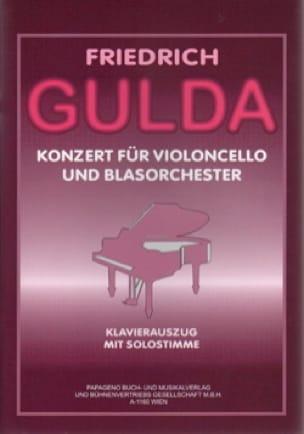 Concerto Pour Violoncelle - Friedrich Gulda - laflutedepan.com