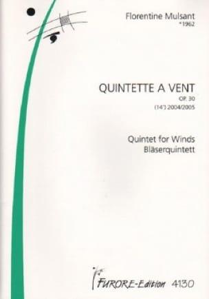 Quintette A Vents Op. 30 2004/2005 - laflutedepan.com