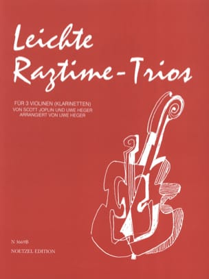 Leichte Ragtime -Trios Joplin Scott / Heger Uwe laflutedepan