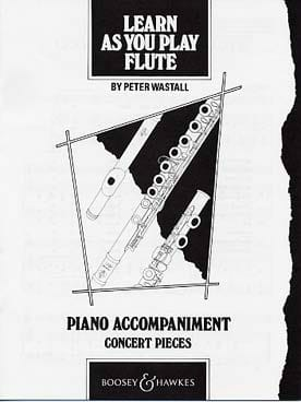 Learn as you play Flute Peter Wastall Partition laflutedepan