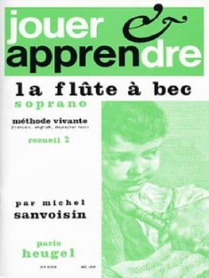 Jouer et apprendre la flûte à bec soprano - Volume 2 - laflutedepan.com