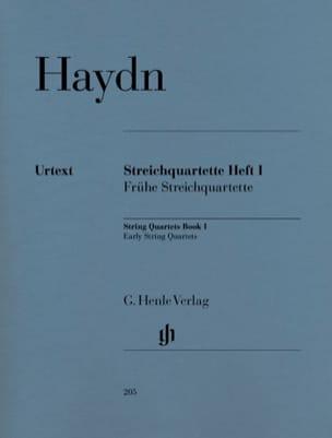 Quatuors à cordes volume I Quatuors de début HAYDN laflutedepan