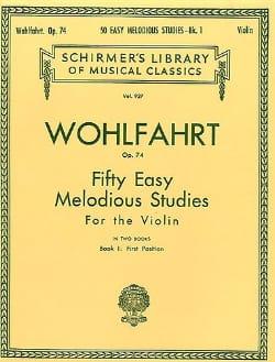 50 Easy melodious studies op. 74, Volume 1 laflutedepan