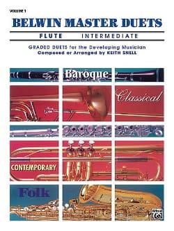 Belwin Master Duets, Volume 1 Flute Intermediate - 2 Flûtes laflutedepan