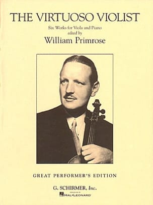 The virtuoso violist William Primrose Partition Alto - laflutedepan