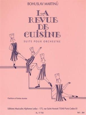 La revue de cuisine MARTINU Partition Sextuors - laflutedepan
