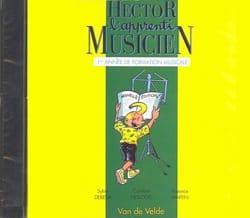 Sylvie DEBEDA, Florence MARTIN et Caroline HESLOUIS - CD - Hector The Apprentice Musician - Volume 1 - Partition - di-arezzo.co.uk