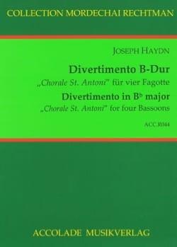 Divertimento en Sib Majeur, «Choral St. Antoni» HAYDN laflutedepan