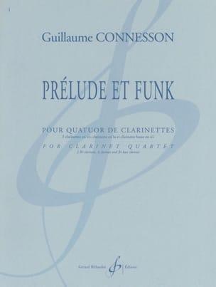 Prélude et Funk CONNESSON Partition Clarinette - laflutedepan