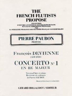 Concerto n° 1 en ré majeur - Flûte piano - DEVIENNE - laflutedepan.com