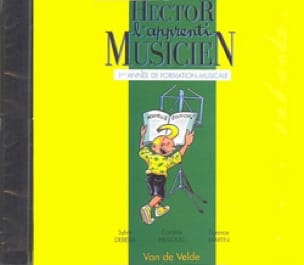 CD - Hector L'apprenti Musicien - Volume 1 - laflutedepan.com