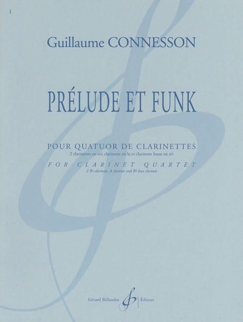 Prélude et Funk - CONNESSON - Partition - laflutedepan.com