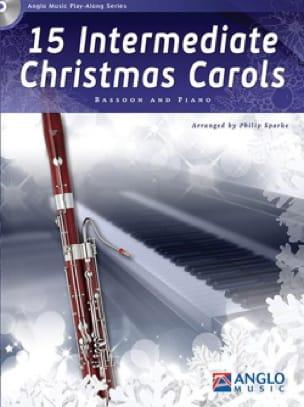 15 Intermediate Christmas Carols - Basson et piano - laflutedepan.com