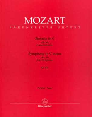Symphonie C-dur Linzer KV 425 - Partitur MOZART Partition laflutedepan