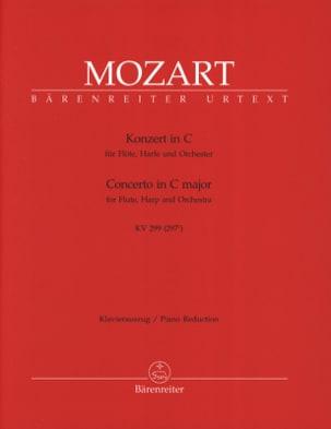 Konzert C-Dur KV 299 -Flöte Harfe Klavier MOZART laflutedepan