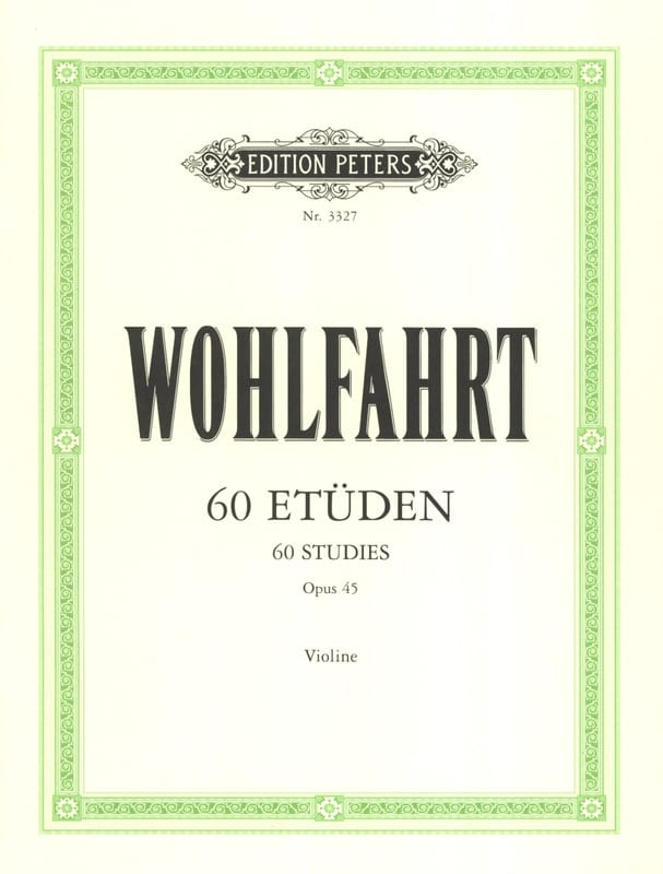 60 Etudes Op. 45 - Franz Wohlfahrt - Partition - laflutedepan.com