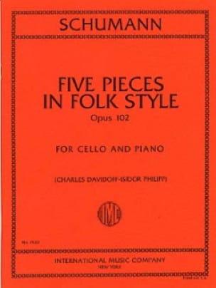 5 Pieces in Folk Style op. 102 - SCHUMANN - laflutedepan.com