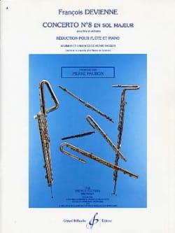 Concerto N° 8 en Sol Majeur DEVIENNE Partition laflutedepan