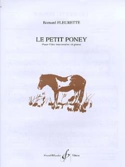 Le petit poney Bernard Fleurette Partition laflutedepan