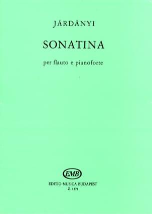 Sonatina - flauto e pianoforte Pal Jardanyi Partition laflutedepan