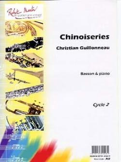 Chinoiseries Christian Guillonneau Partition Basson - laflutedepan