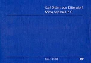 Missa Solemnis in C - Partitur laflutedepan