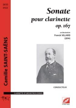 Sonate pour Clarinette - Clarinette et Orchestre à Cordes - laflutedepan.com