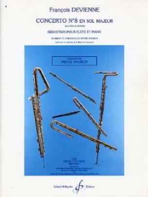 Concerto N° 8 en Sol Majeur - DEVIENNE - Partition - laflutedepan.com