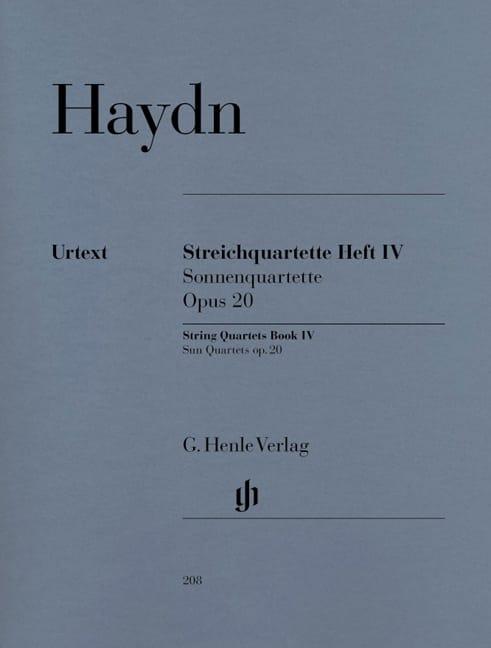 Quatuors à cordes volume IV, op. 20 - HAYDN - laflutedepan.com