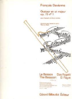 Quatuor en ut majeur op. 73 n° 1 -Basson et piano laflutedepan