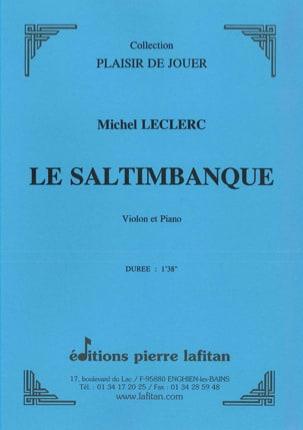 Le Saltimbanque Michel Leclerc Partition Violon - laflutedepan