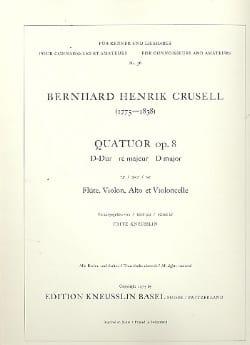 Quatuor op. 8 ré majeur - Flûte, violon, alto et violoncelle laflutedepan
