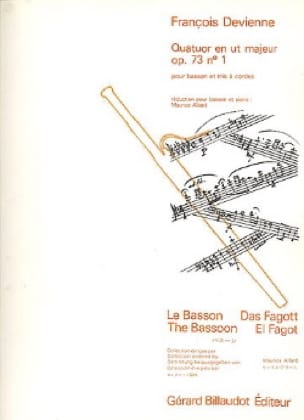Quatuor en ut majeur op. 73 n° 1 -Basson et piano - laflutedepan.com
